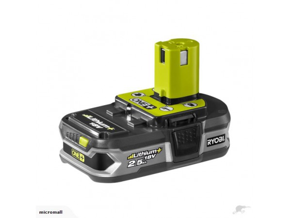 used Ryobi genuine One+ P102 18V 2.5ah battery